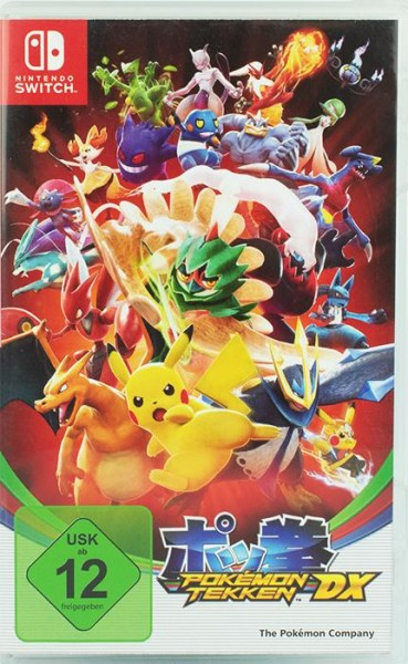 Pokemon Tekken DX Nintendo Switch