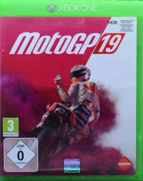 XONE MotoGP 2019