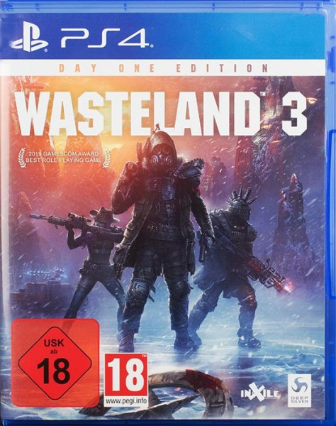 Wasteland 3 Day One Edition PlayStation 4