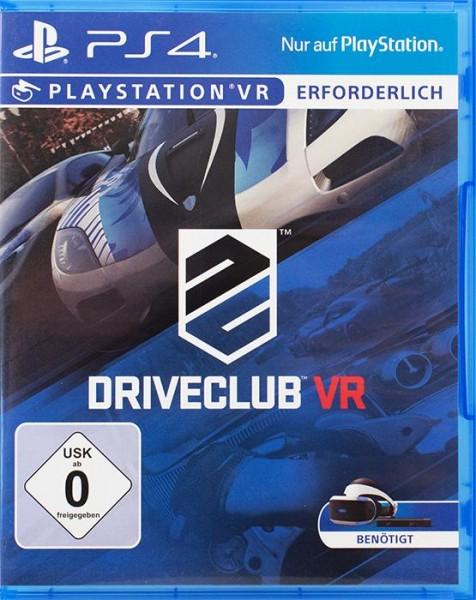 Driveclub VR PlayStation 4