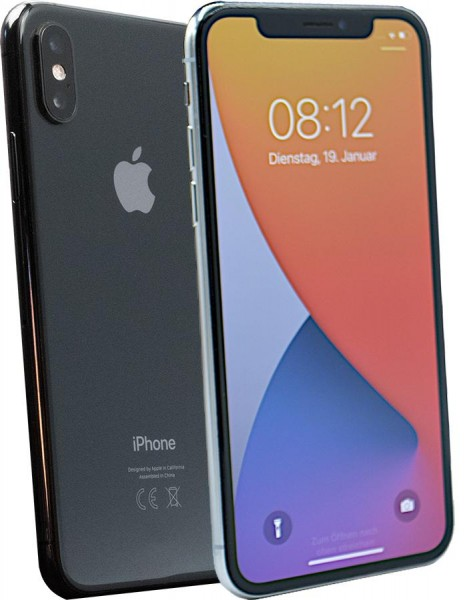 Apple iPhone X space grau