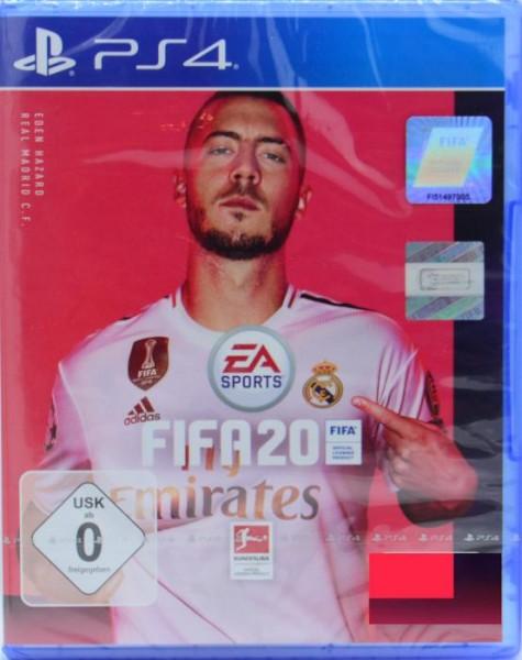 FIFA 20 (PlayStation 4) - Inklusive Code für 1 Seltene-Spieler-Pack & 3-Leih-ICON-Pack