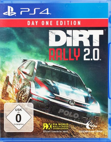 DiRT Rally 2.0 Day One Edition PlayStation 4