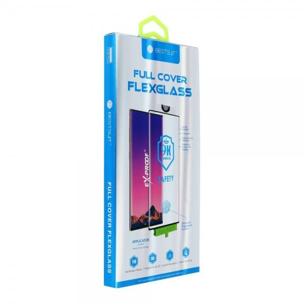 Panzerglas Flexible Nano Glass - SAM Galaxy S20 Ultra schwarz