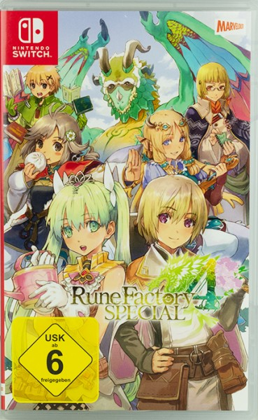 Rune Factory 4 Switch Special Nintendo Switch