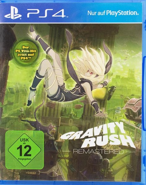 Gravity Rush Remastered PlayStation 4
