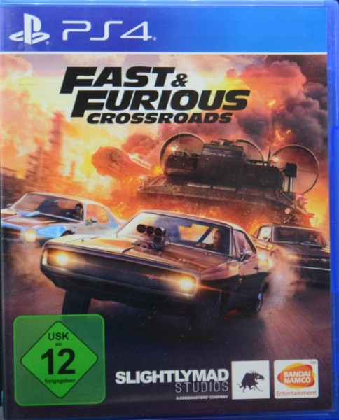 Fast & Furious Crossroads PlayStation 4