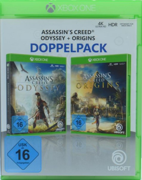 Assassin's Creed Odyssey + Origins Doppelpack (XBOX ONE)