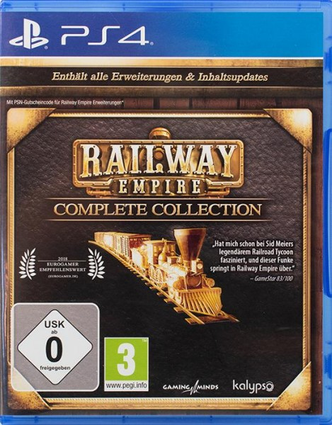 Railway Empire Complete Collection PlayStation 4